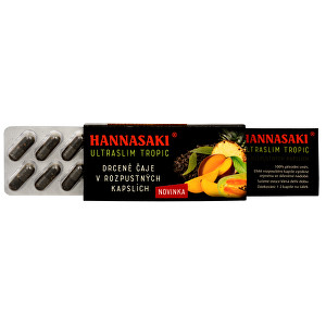 Zobrazit detail výrobku Čaje Hannasaki Hannasaki UltraSlim - Tropic - cestovní balení 10 x 1 g