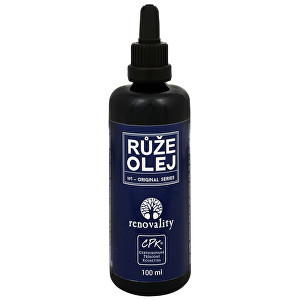 Renovality masážní a tělový olej Růže 100 ml