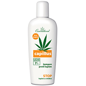 Zobrazit detail výrobku Cannaderm Šampon proti lupům Capillus 150 ml