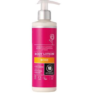Urtekram Tělové mléko růžové 245 ml BIO