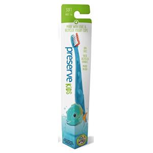 Zobrazit detail výrobku Preserve Dětský zubní kartáček soft - azurový