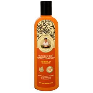 Babushka Agafia Rakytníkový šampon pro objem a lesk 280 ml