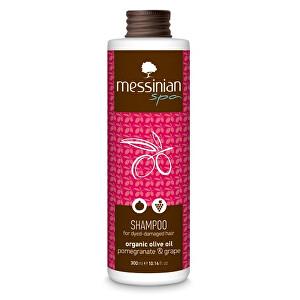 Messinian Spa Šampón na barvené vlasy granátové jablko & hroznové víno 300 ml