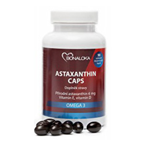 Zobrazit detail výrobku Bonaloka Astaxanthin Caps Omega 3 - 90 kapslí