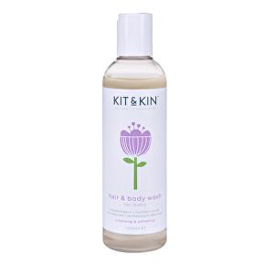 Kit & Kin Vlasový a tělový šampón 250 ml