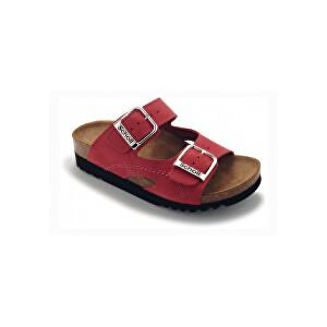 Scholl Zdravotní obuv dámská MOLDAVA WEDGE AD červené 37