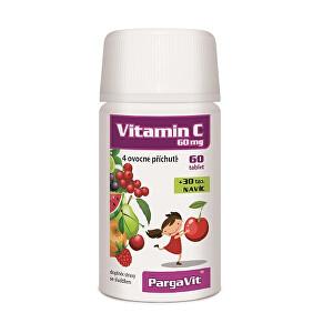 Zobrazit detail výrobku Simply You PargaVit Vitamin C Mix Plus pro děti 90 tablet