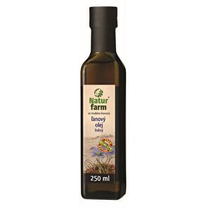 Zobrazit detail výrobku Natur farm Lněný olej 0,25 l