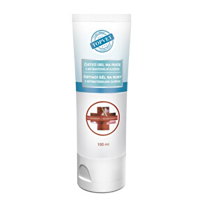 Zobrazit detail výrobku Topvet Antibakteriální gel na ruce - Divoká třešeň 100 ml