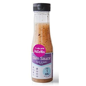 KetoMix Cesnak a bylinky dresing bez kalórií 250 ml