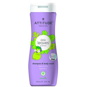 Zobrazit detail výrobku ATTITUDE Dětské tělové mýdlo a šampon (2 v 1) ATTITUDE Baby leaves s vůní hruškové šťávy 473 ml