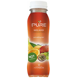 Zobrazit detail výrobku PURE PURE 5-Fruits 25 cl -  lisovaná šťáva z 5 druhů ovoce