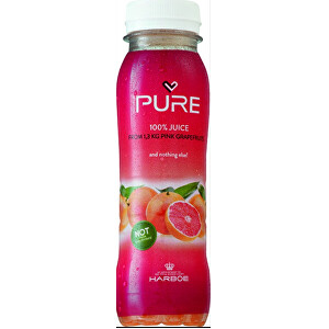 PURE PURE Grapefruit 25 cl - grapefruitová lisovaná šťáva