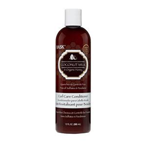 Zobrazit detail výrobku Hask Kondicionér pro kudr.vlasy kokos.mléko-org.med 355 ml