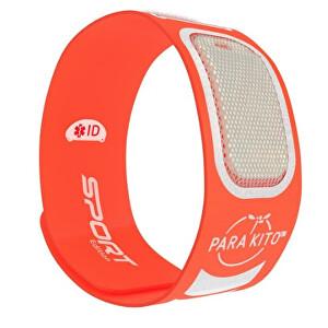 Zobrazit detail výrobku PARA`KITO Sportovní náramek proti komárům PARA`KITO + 2 náplně Oranžový