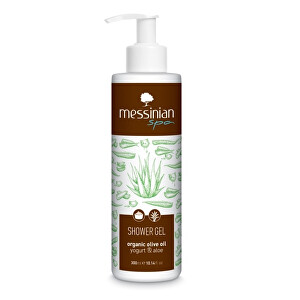Zobrazit detail výrobku Messinian Spa Sprchový gel jogurt & aloe vera 300 ml