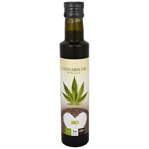 Natural Medicaments Cannabis oil - BIO Konopný olej 250 ml - SLEVA - POŠKOZENÁ ETIKETA