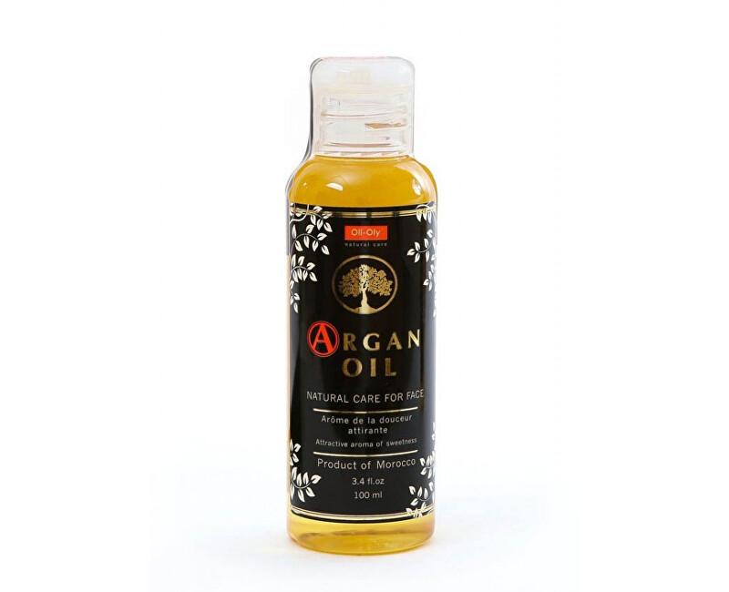Oli-Oly 100% parfumovaný arganový olej na tvár 100 ml Svěží vůně - Fresh
