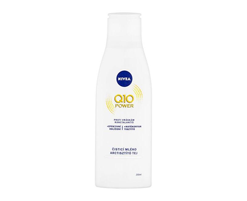 Nivea Čistiace pleťové mlieko proti vráskam Q10 Plus 200 ml