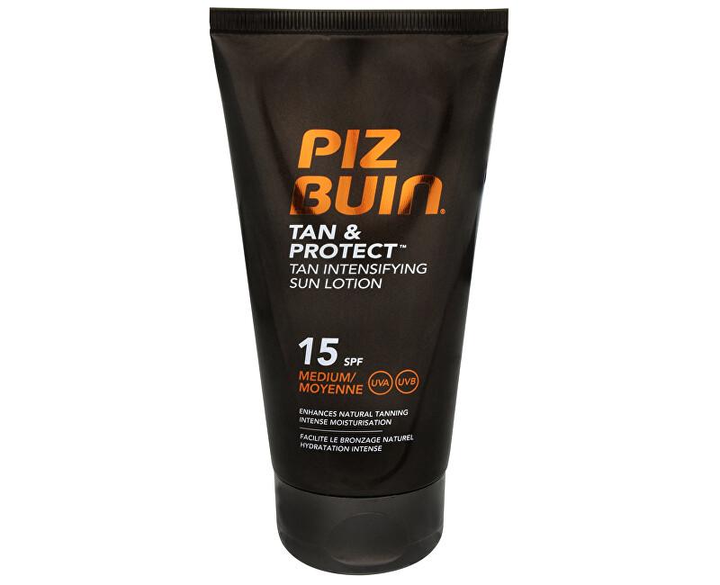 Piz Buin Mlieko urýchľujúci proces opaľovanie SPF 15 (Tan & Protect Tan Intensifying Sun Lotion) 150 ml