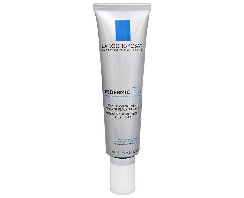 La Roche Posay Intenzívny spevňujúci starostlivosť proti vráskam pre normálnu a zmiešanú pleť Redermic (C) 40 ml - ZĽAVA - poškodená krabička