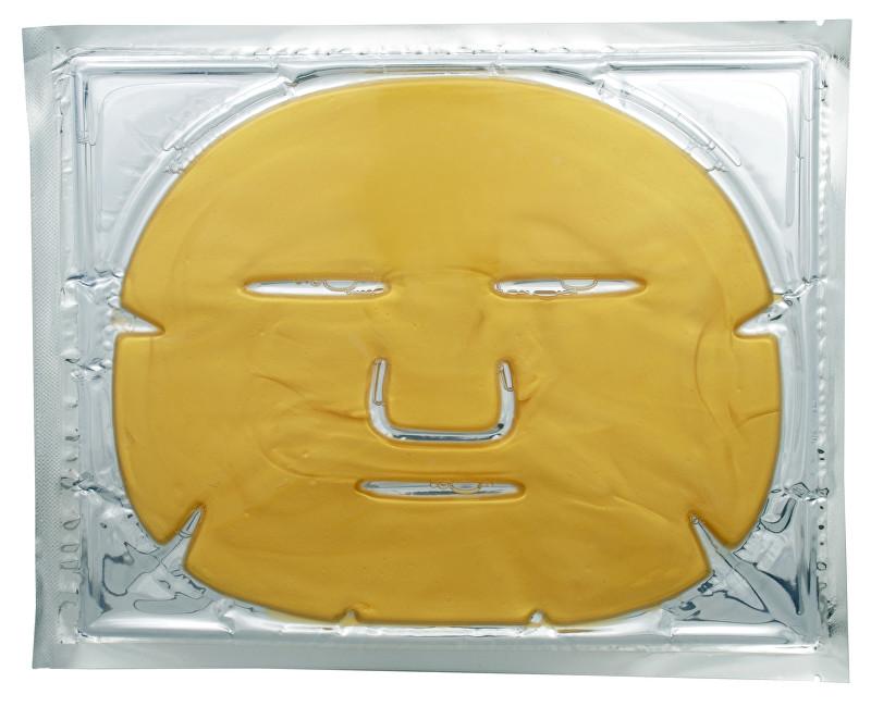 Jednorázové masky Kolagénová tvárová maska so zlatom ( Gold Collagen Crystal Mask) 1 ks - ZĽAVA - prasknutý obal