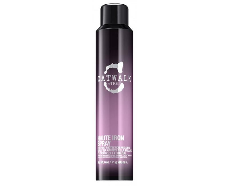Tigi Sprej pre tepelnú úpravu vlasov Catwalk (Sleek Mystique Haute Iron Spray) 200 ml