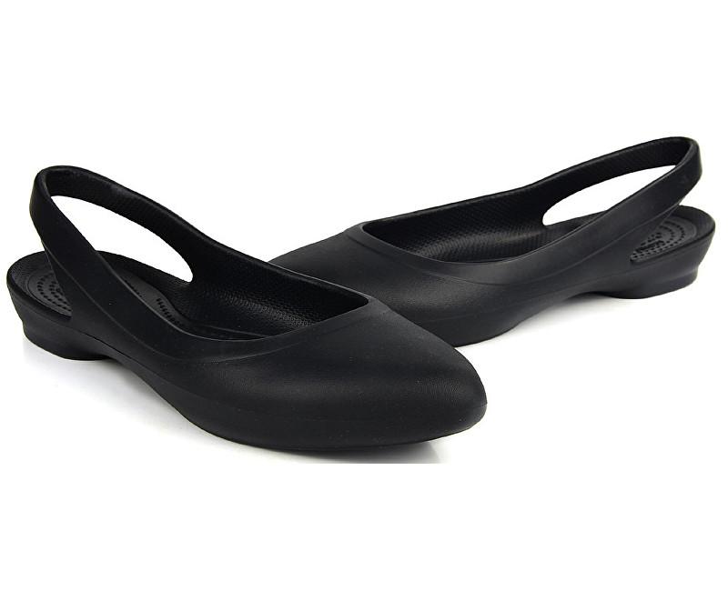 cdd2751f77b Crocs Dámske baleríny Crocs Eve Slingback Black 204955-001 39-40