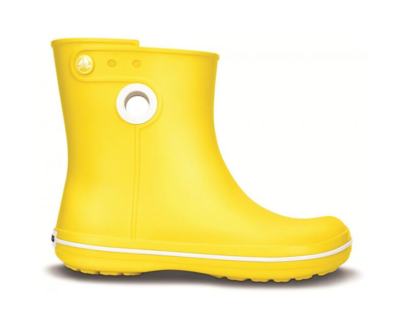 Crocs Dámske čižmy Jaunt Shorty Boot Yellow 15769-730 41-42 4226aad66bd
