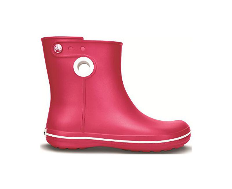 Crocs Dámske gumáky Women`s Jaunt Shorty Boot Raspberry 37-38