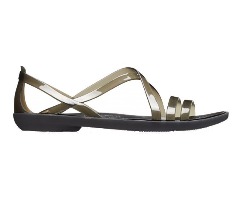 483b04cf973 Crocs Dámske sandále Isabella Strap py Sandal Black 204915-001 36-37