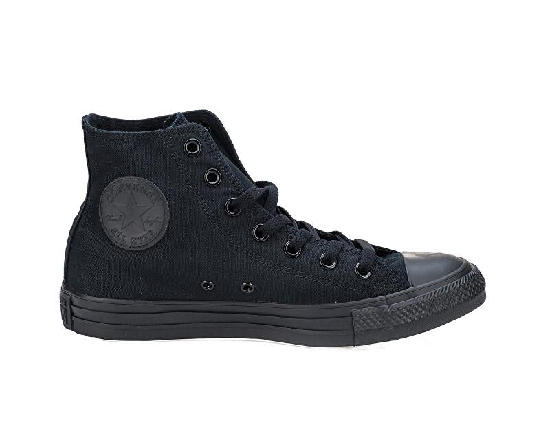 Converse Kotníkové tenisky Chuck Taylor All Star Black Monochrome 40