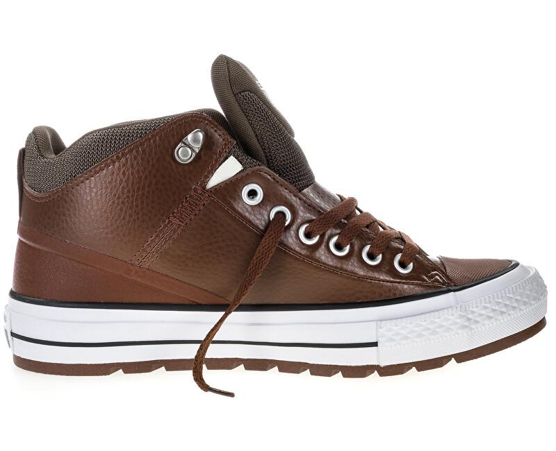 Converse Tenisky Chuck Taylor AS Street Boot Dark Clove/Pale Putty/White 45