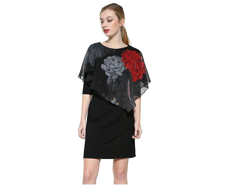 Desigual Dámske šaty Vest Alexandre 17WWVK48 2000 L