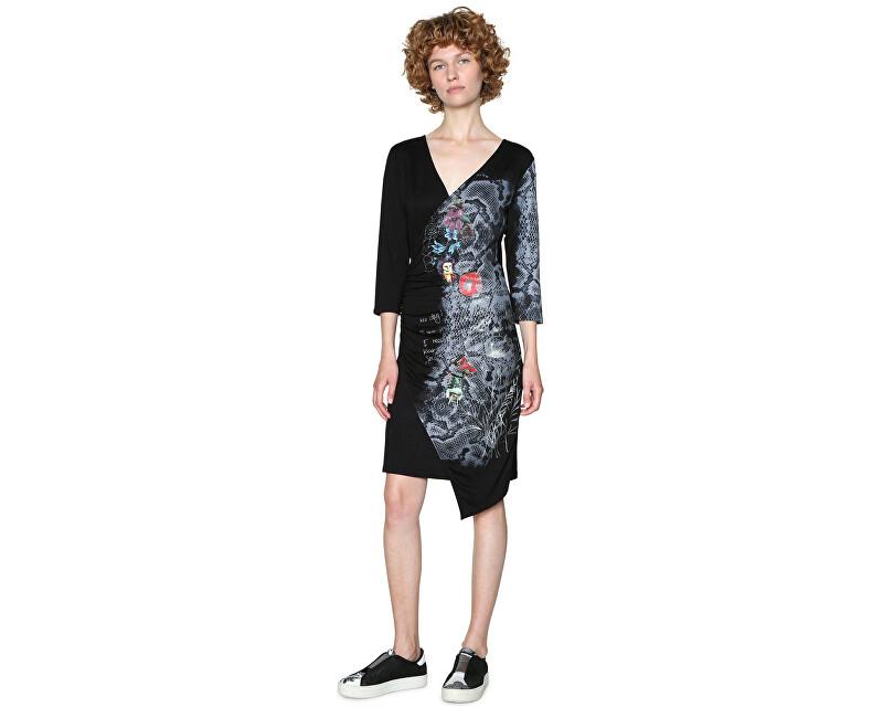 Desigual Dámske šaty Vest Next To Me 18SWVKBK 2000 L