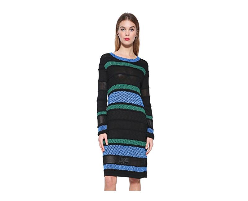 Desigual Dámske šaty Vest Susan 17WWVF30 2000 L
