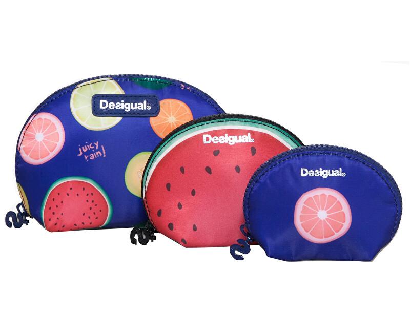 Desigual Sada puzdier Pouch Trio Fruits 73Y9EC3 5036