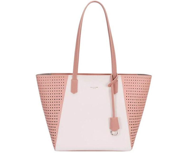 David Jones Dámská kabelka Pink CM3757 c6888a7226d