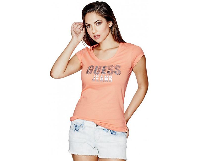 28b405c47090 Guess Dámske tričko Nella Logo Tee M