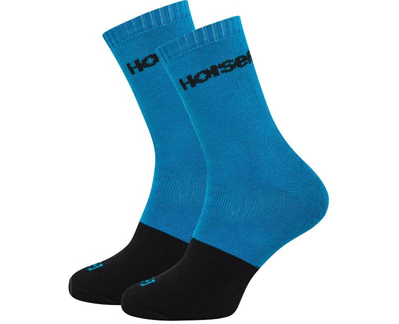 Horsefeathers Pánske ponožky Milton Blue AA1019C 8-10