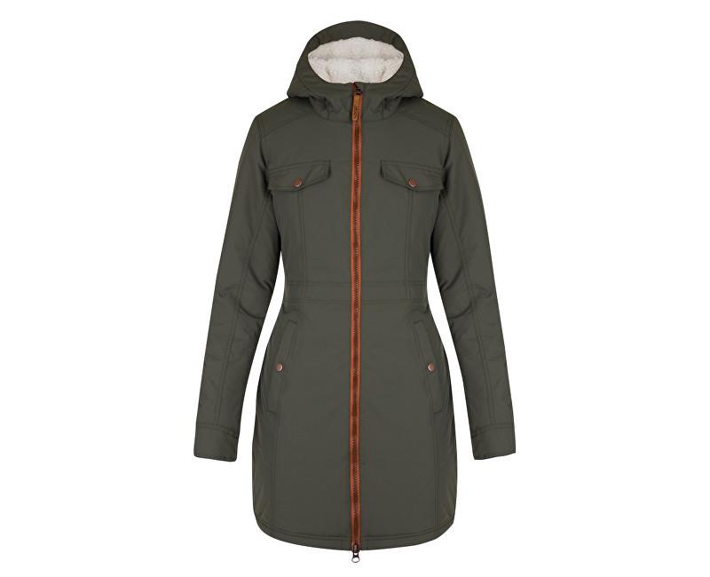 LOAP Dámska zimná bunda do mesta Nikča Climb Ivy zelená CLW1769-P24P XL