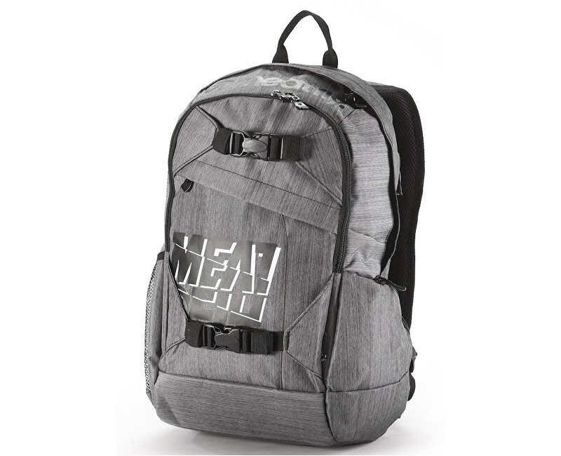 Meatfly Basejumper heather grey black 20l 22ec58d29b