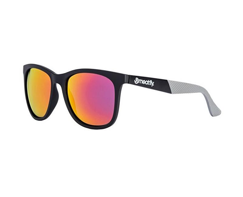 Meatfly Slnečné okuliare Clutch Sunglasses A-Black, Grey