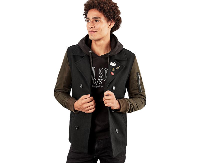 Q/S designed by Pánsky kabát 40.709.52.4768. 9999 Black XL