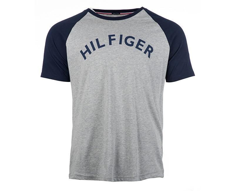 Tommy Hilfiger Pánske tričko Cn Tee Rs Logo Grey Heather UM0UM00699-004 M 85afaf179f5