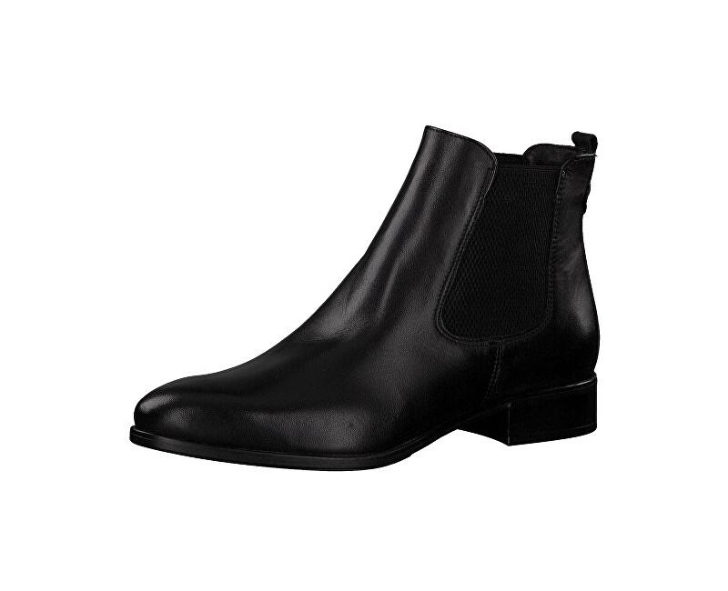 Tamaris Dámske členkové topánky 1-1-25388-21-003 Black Leather 38