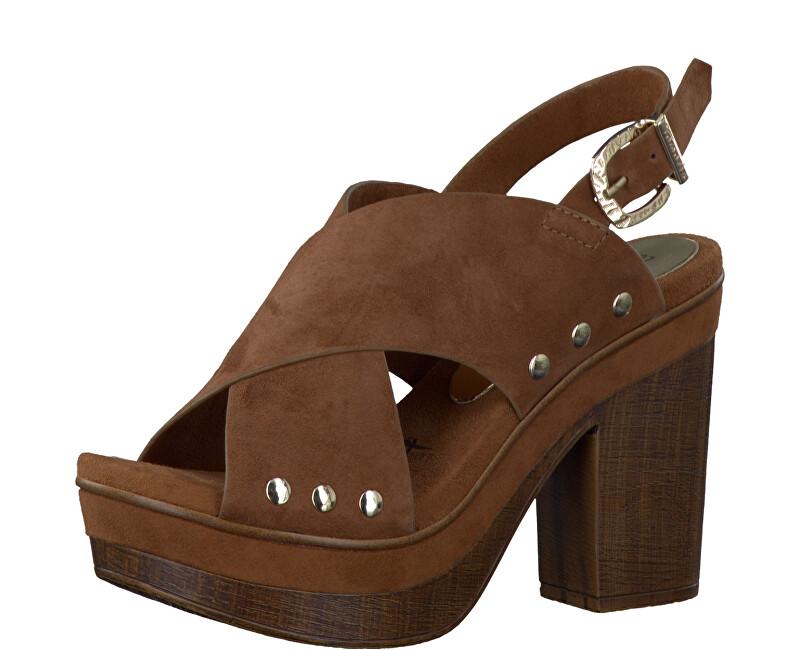 ea9d64a474 Tamaris Elegantné dámske sandále 1-1-28389-38 Cognac 40