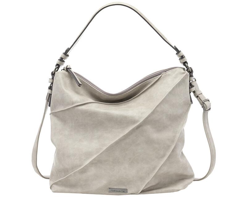 Tamaris Elegantná kabelka Jutta Hobo Bag L 2597181-204 Light Grey