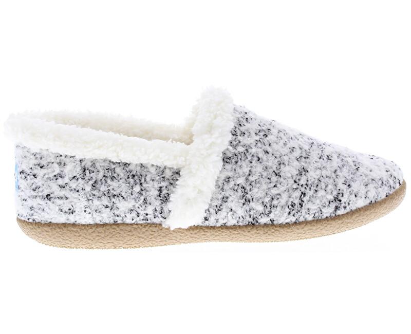 TOMS Dámske šedé papuče Birch Woolen Slipper 40