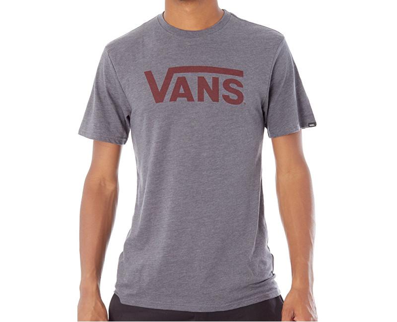 VANS Pánske tričko Vans Classic Heather Asphalt V000UMO8W L e10a6fd0ecc